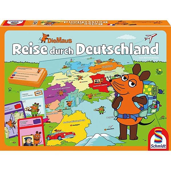 Reise Durch Deutschland Spiel