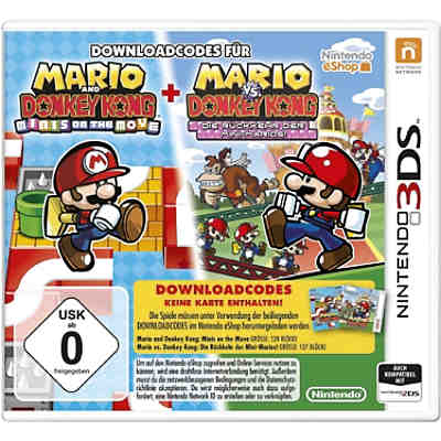3DS Mario & Donkey Kong : Move & March (Downloadcode)