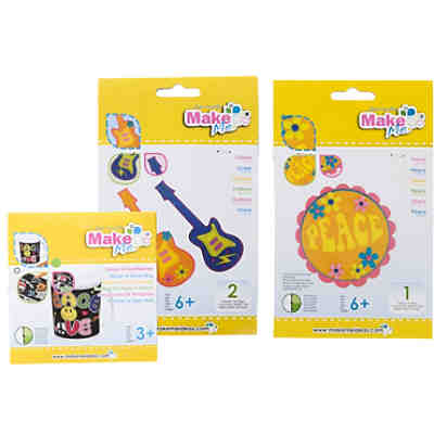 Kreativset 3 in 1 Flower Power Filz/Samt