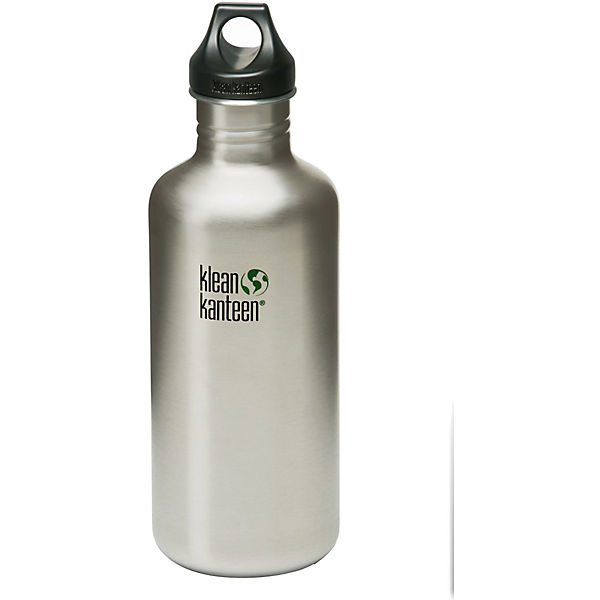Trinkflasche Kanteen® Classic brushed stainless, 1.182 ml, Loop Cap