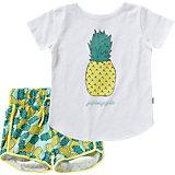 Set Shorts und T-Shirt für Mädchen