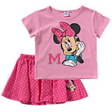 MINNIE MOUSE Kinder Set T-Shirt + Rock