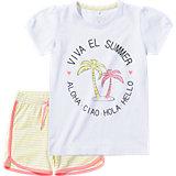Set Shorts & T-Shirt für Mädchen, Organic Cotton