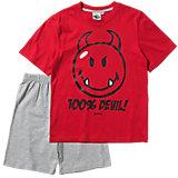 SMILEY WORLD WORLD Schlafanzug für Jungen
