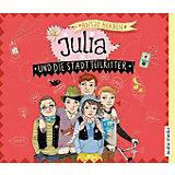 Julia und die Stadtteilritter, 3 Audio-CDs