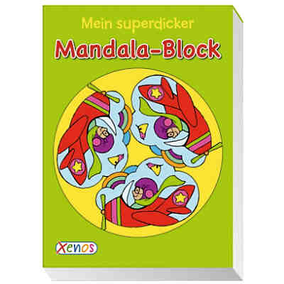Mein superdicker Mandala-Block