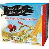 Messerlillis wilde Töchter, 6 Audio-CDs