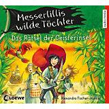 Messerlillis wilde Töchter: Das Rätsel der Geisterinsel, 2 Audio-CDs, teil 3