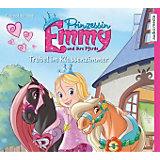Prinzessin Emmy und ihre Pferde: Trubel im Klassenzimmer, 2 Audio-CDs