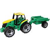 Traktor ohne Schaufel mit Anhänger