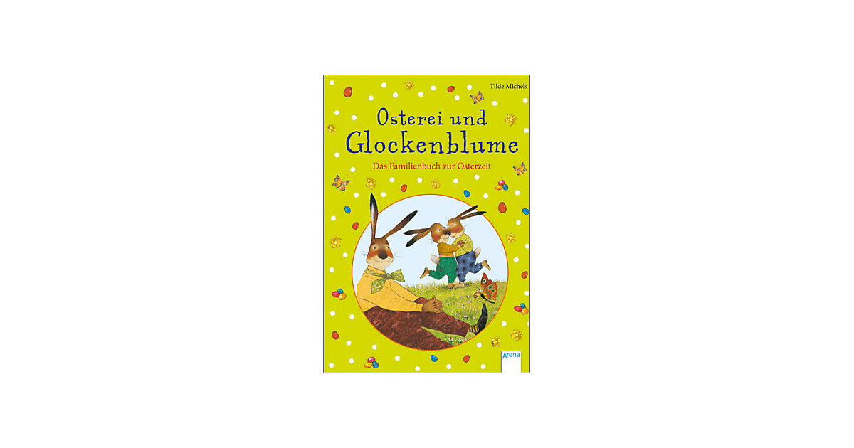 Buch - Osterei und Glockenblume