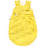 Sommer-Schlafsack Klimasoft mit Tencel, gelb