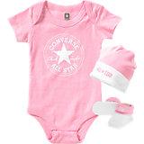 CONVERSE Baby Geschenkset Body, Mütze und Söckchen, 0-6 MON