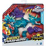 Улучшенная разборная фигурка Динозавров Мира Юрского Периода, Hero Mashers