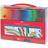 CONNECTOR Pen Fasermaler für Unterwegs, 60 Farben& Zubehör  im Koffer