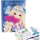 Create your Fantasy Princess Malbuch