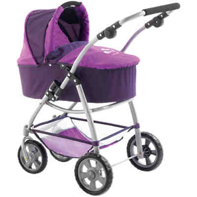 Puppenwagen Kombi Emotion 3in1 lila
