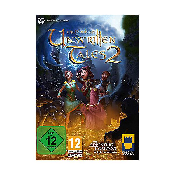 PC The Book of unwritten Tales 2 (PC/Mac/Linux)