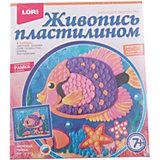 """Живопись пластилином """"Морская рыбка"""", LORI"""