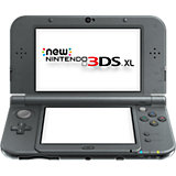 New Nintendo 3DS XL, metallic schwarz