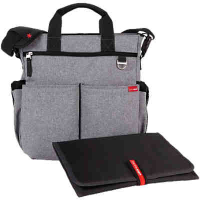 Skip Hop Wickeltasche DUO SIGNATURE, Heather grey
