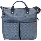 Skip Hop Wickeltasche DUO SIGNATURE LIMITED, Blue Pinpoint
