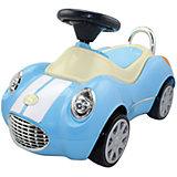 Машинка-каталка Кабриолет Люкс FOXY-CAR Happy Baby, голубая