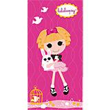 "Полотенце ""Розовая куколка"",  50*90 см, Lalaloopsy"
