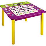 Стол с алфавитом 60*60*53,5 см, Лунтик и его друзья