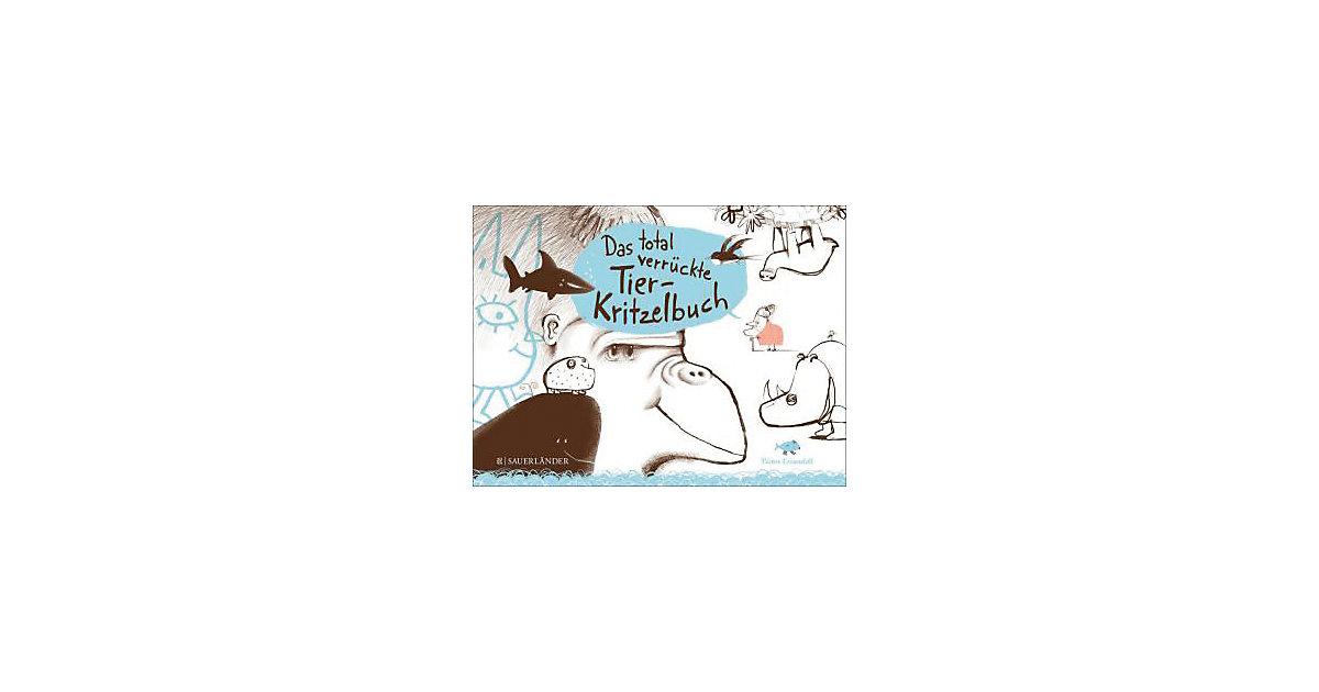 Buch - Das total verrückte Tier-Kritzelbuch