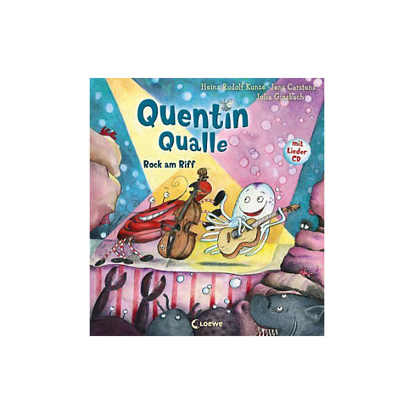 Quentin Qualle: Rock am Riff, mit Audio-CD