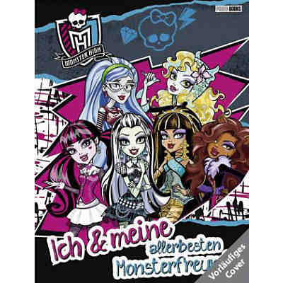 Monster High - Freundebuch
