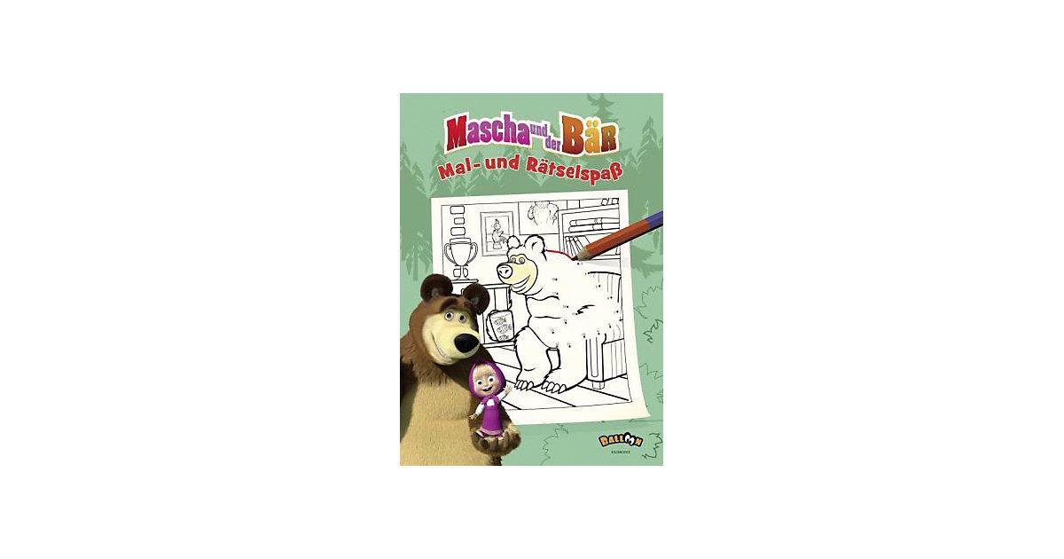Buch - Mascha und der Bär - Mal- und Rätselspaß