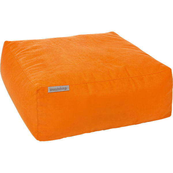 Sitzsack Easy, Soft, orange