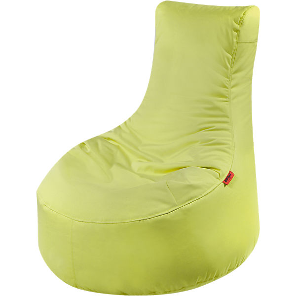 Outdoor-Sitzsack Slope, Plus, limette