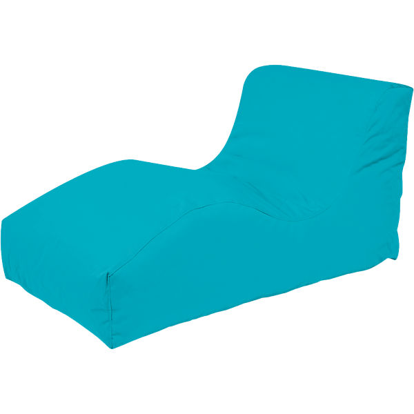 Outdoor-Sitzsack Wave, Plus, aqua