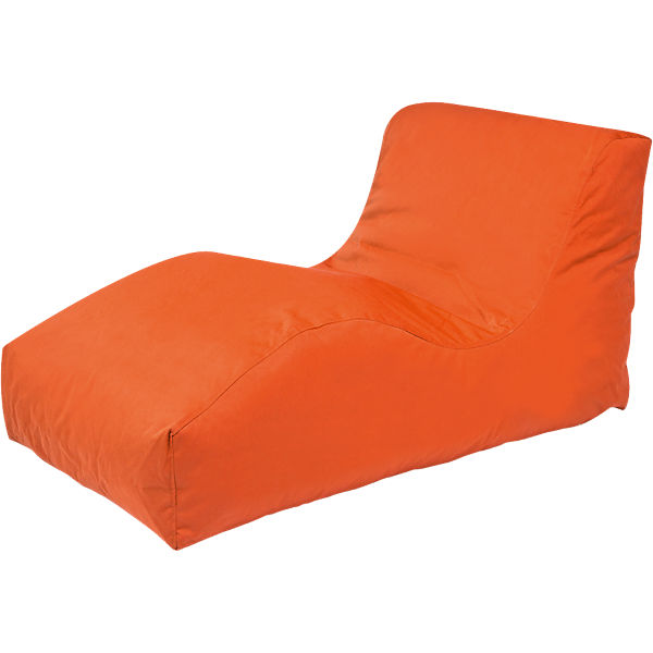 Outdoor-Sitzsack Wave, Plus, orange