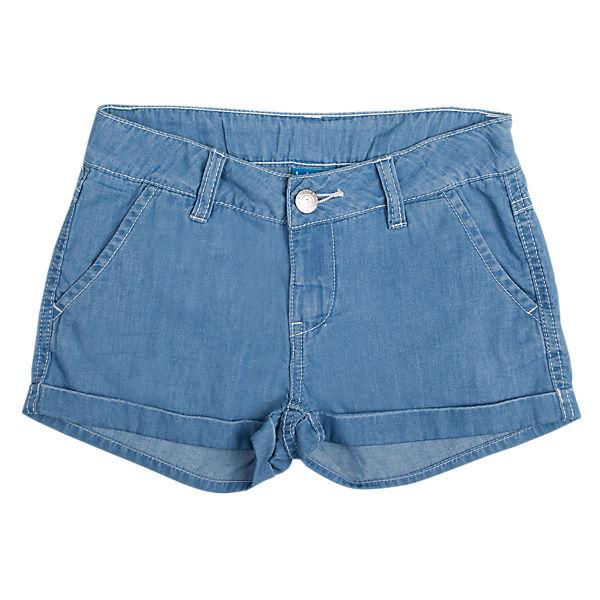 Шорты джинсовые для девочки Button Blue