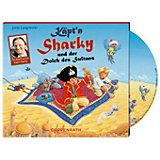 Käpt'n Sharky und der Dolch des Sultans, Audio-CD