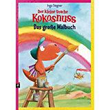 Der kleine Drache Kokosnuss: Das große Malbuch, Sammelband