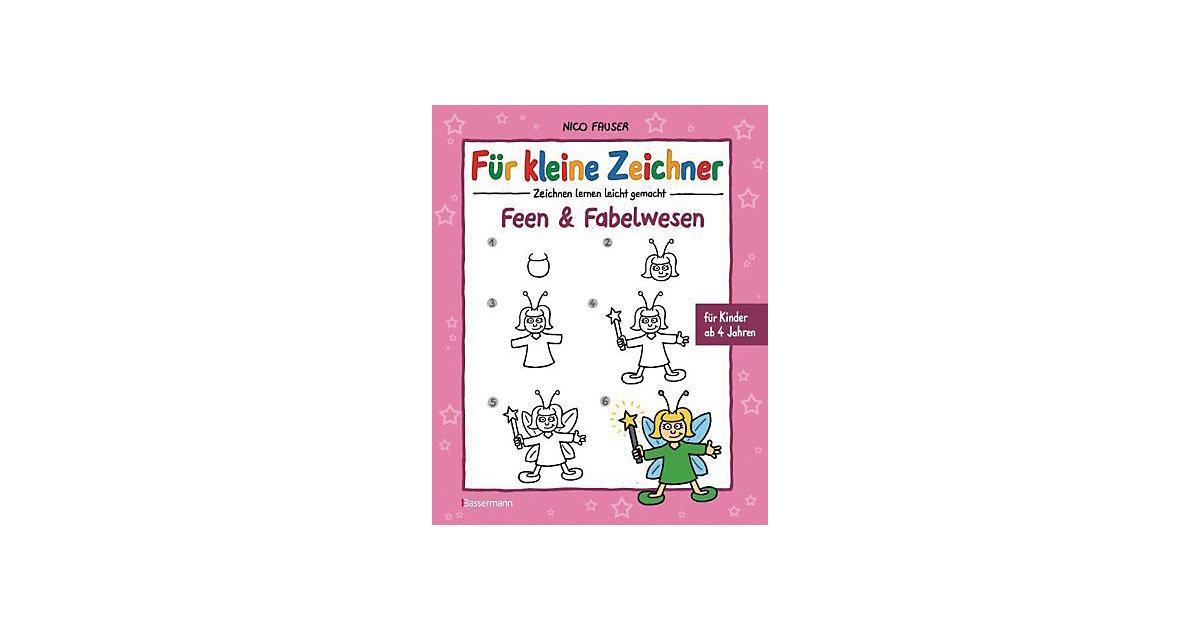 Buch - Für kleine Zeichner: Feen & Fabelwesen