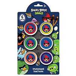 Шариковый пластилин, 6 цветов, Angry Birds