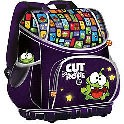 """Школьный ранец """"Smart bag"""" с жестким каркасом, Cut the Rope"""