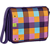 Schultertasche 4TEENS, Messengerbag Bag Big, Empire dark purple
