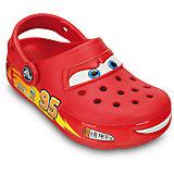 Сабо CrocsLights Cars™ Clog со светодиодами для мальчика Crocs