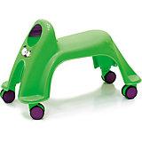 Каталка Smiley Neon Whirlee, зелёная