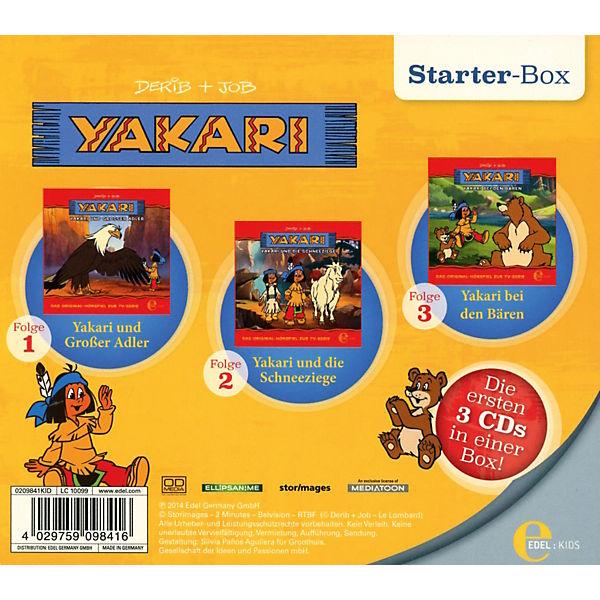 CD Yakari  Starter Box (Folgen 1,2,3), YAKARI  myToys