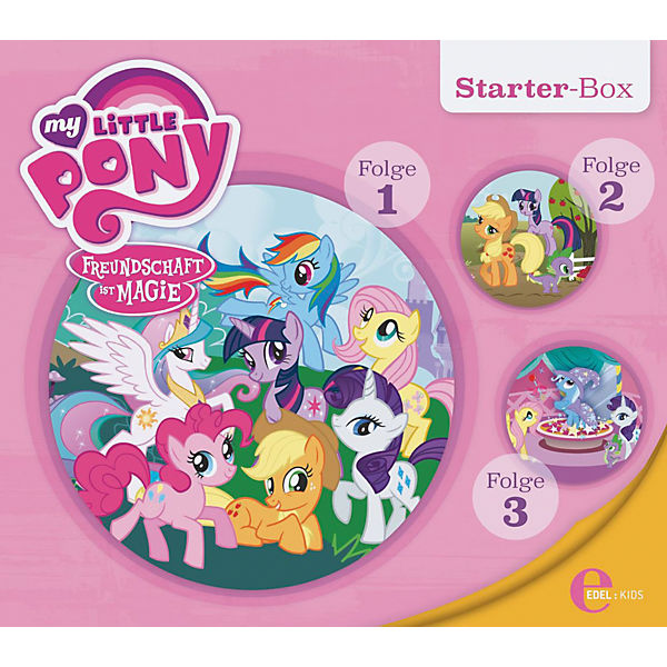 CD My little Pony - Starter Box (Folgen 1,2,3)