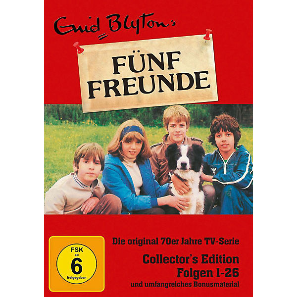 DVD Fünf Freunde - Collector's Edition