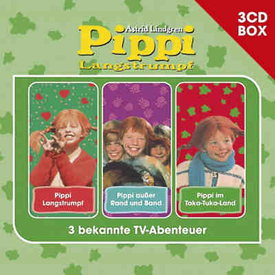 CD Pippi Langstrumpf - 3er Box